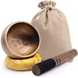 DomeStar - Juego de cuencos tibetanos para meditación (7,1 cm)