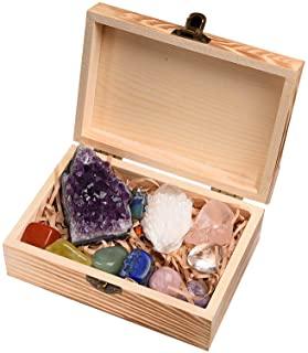 IKevan 11 piedras de cristal curativo