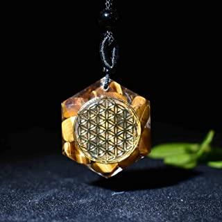 Péndulo Flor de la Vida Colgantes Estrella de seis puntas