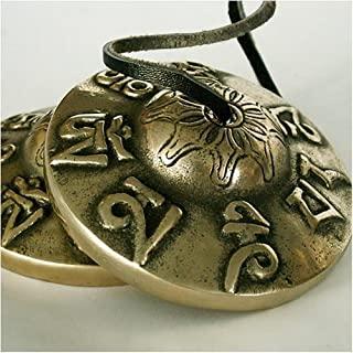 Tingsha Timbre tibetano de meditación Om Mane Padme Hum