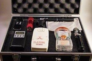 detector fantasmas ghost meter pro emf sensor espiritus medidor