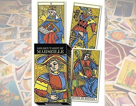 Golden tarot marsella