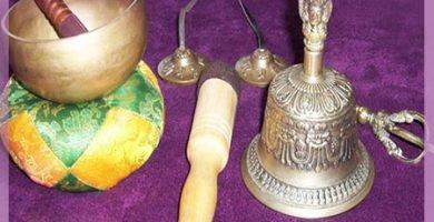Objetos budistas tibetanos