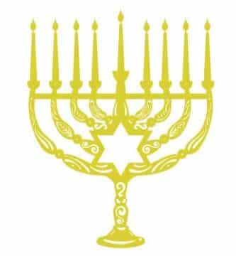 Menorah candelabro